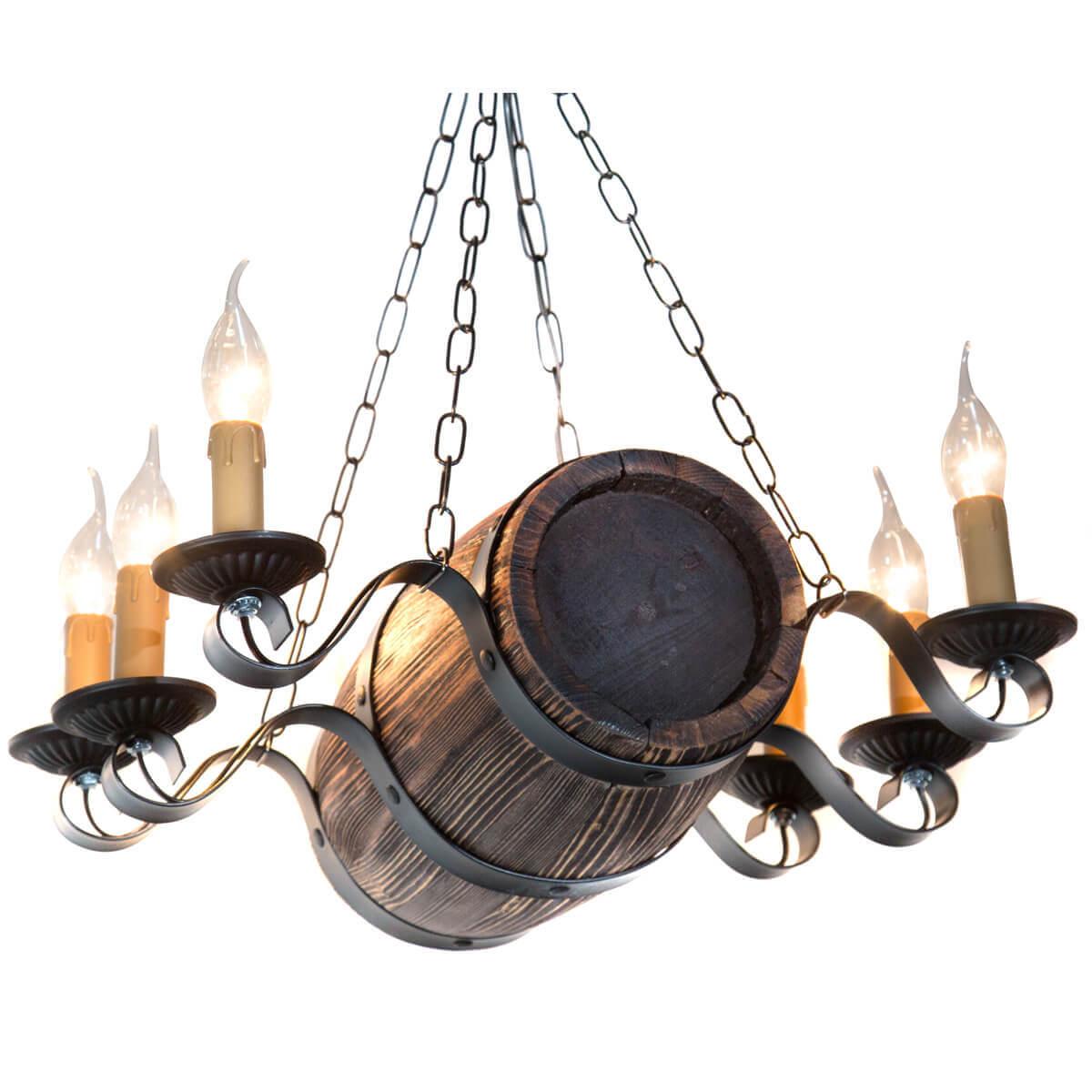 Потолочная люстра Дубравия Бочонок 187-64-16 потолочная люстра дубравия манро 114 44 25