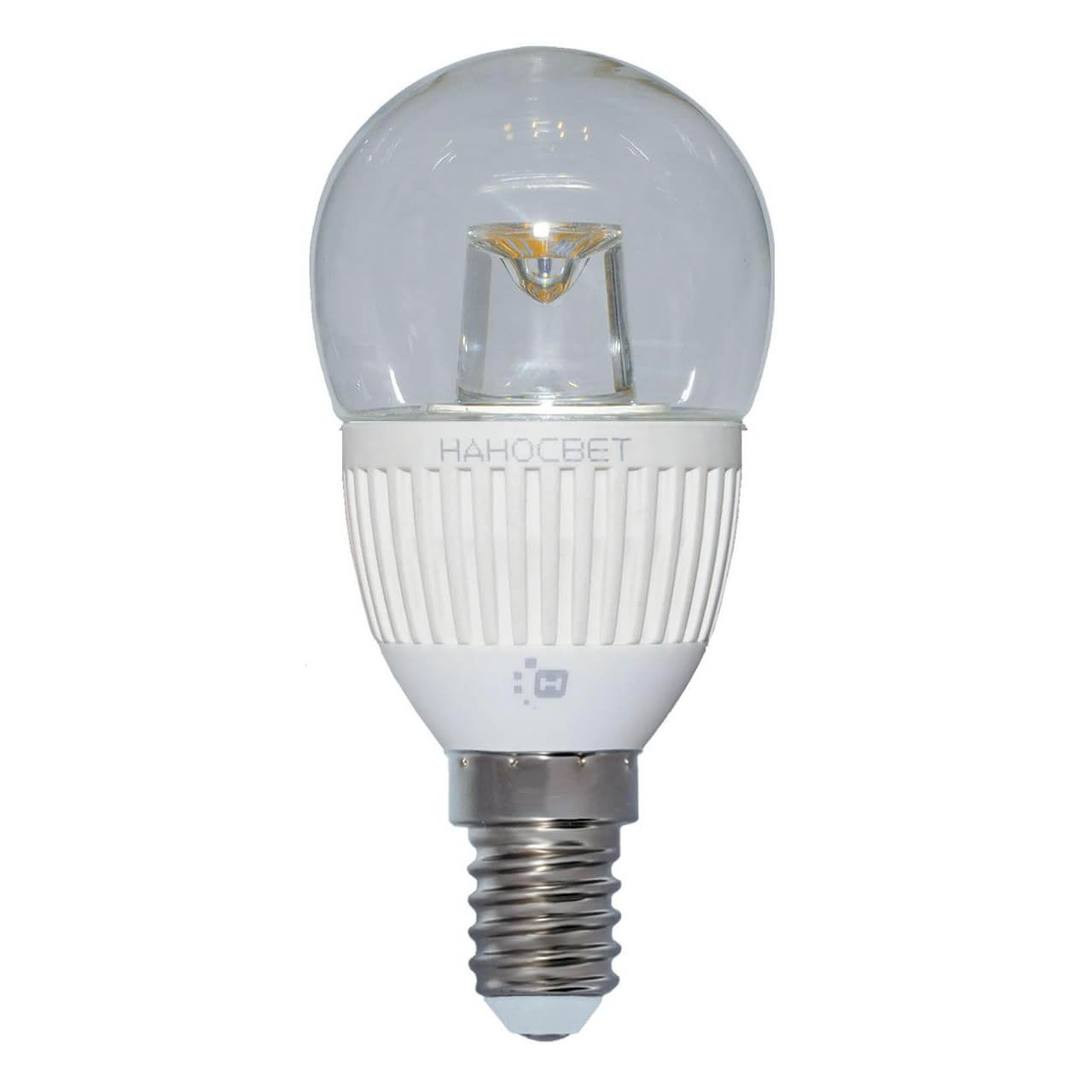 купить Лампа светодиодная Наносвет E14 5W 2700K прозрачная LC-P45CL-5/E14/827 L142 по цене 159 рублей