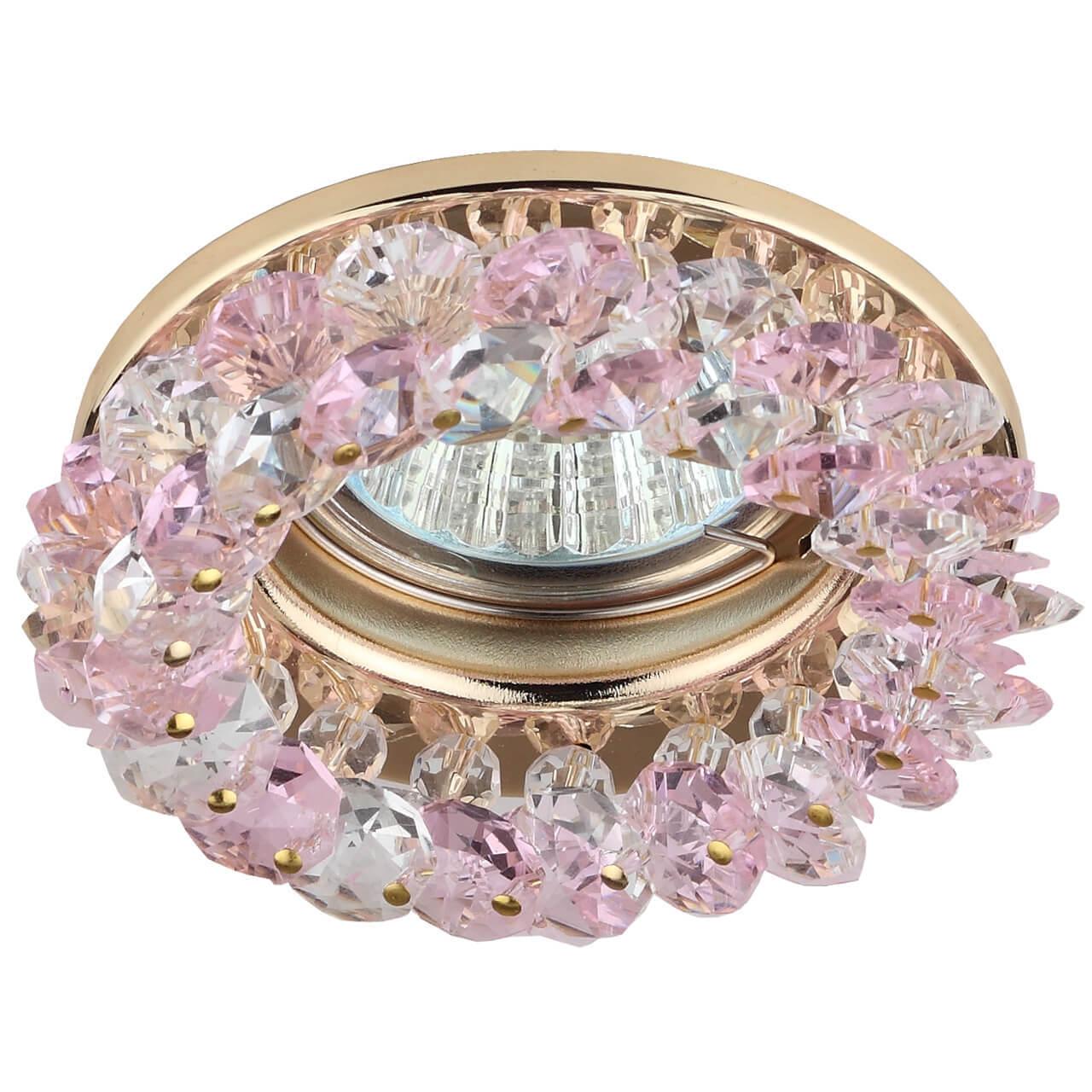 все цены на Встраиваемый светильник ЭРА Декор DK16 GD/WH/PK онлайн