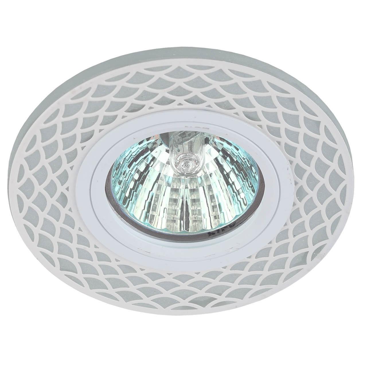 Точечный светильник ЭРА DK LD40 WH/WH elvan точечный светильник elvan sd 8016 g wh