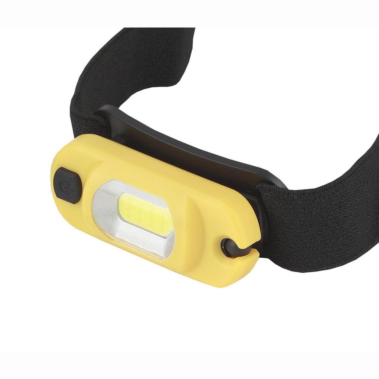 Налобный светодиодный фонарь ЭРА Практик аккумуляторный 150 лм GA-801 фонарь эра ga 801