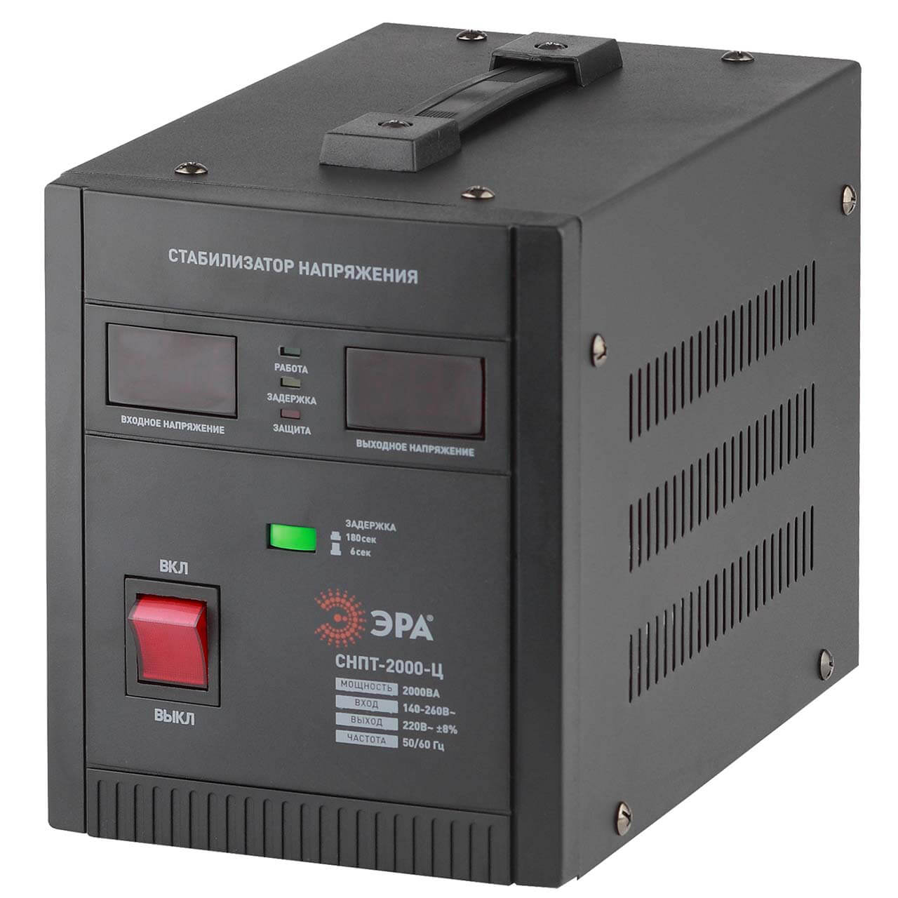 Стабилизатор напряжения ЭРА СНПТ-2000-Ц цена