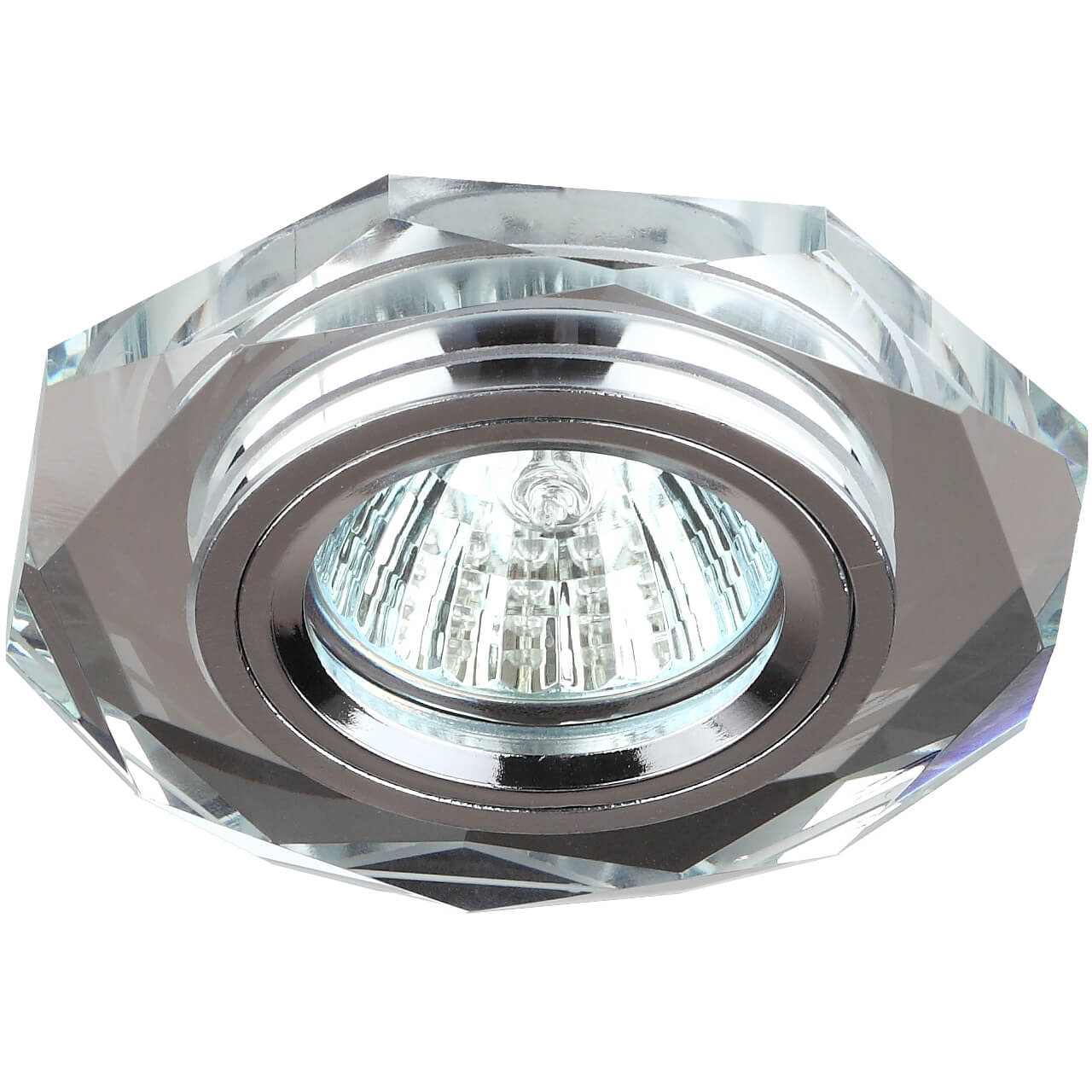 Встраиваемый светильник ЭРА Декор DK5 СH/SL