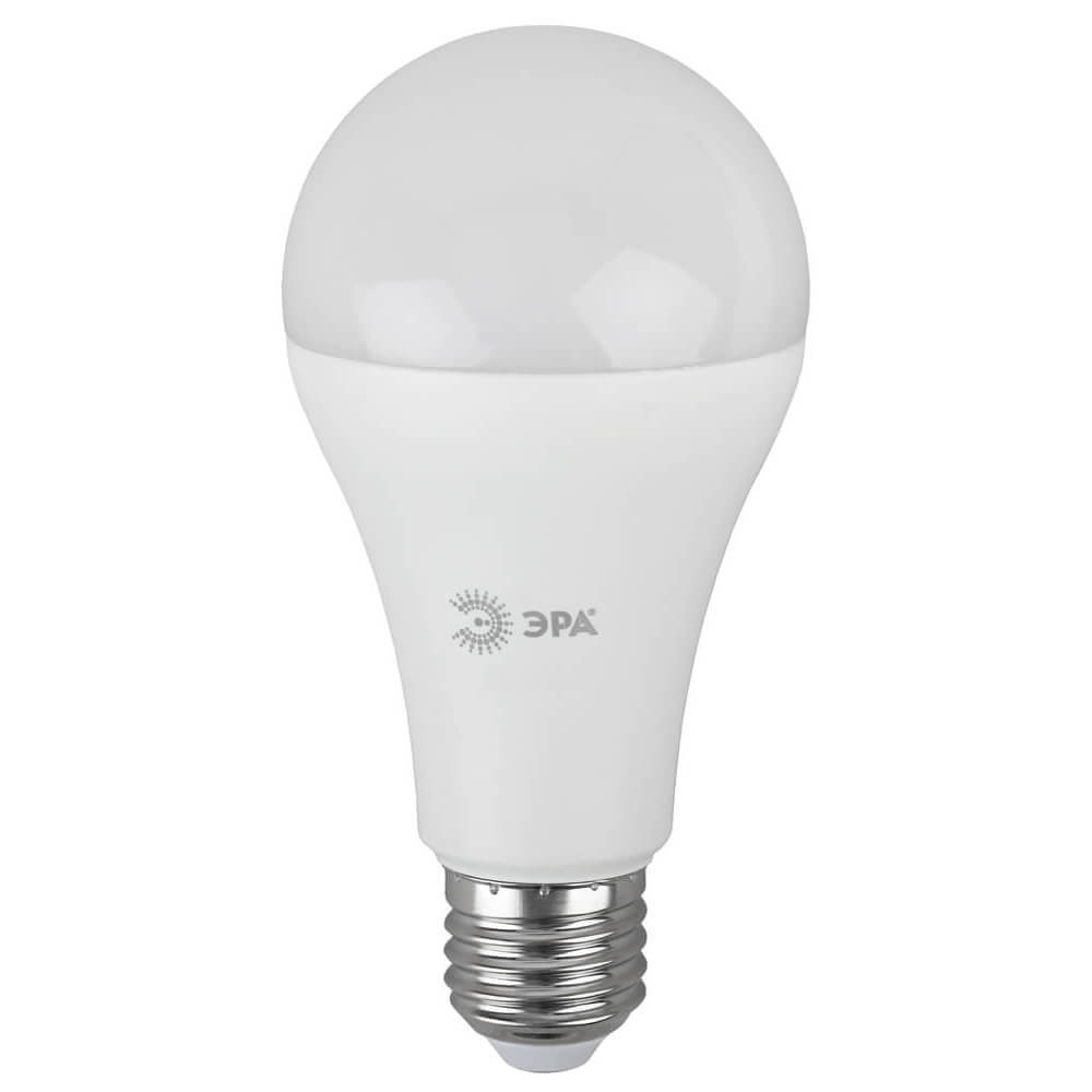 Лампа светодиодная ЭРА E27 21W 2700K матовая LED A65-21W-827-E27