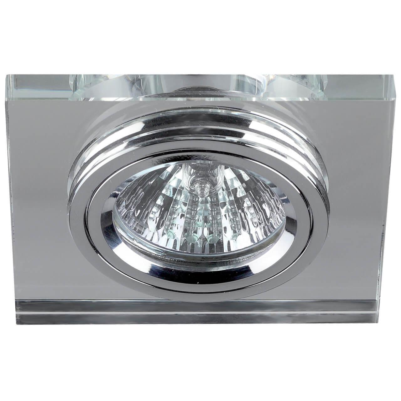 Встраиваемый светильник ЭРА Декор DK8 CH/WH