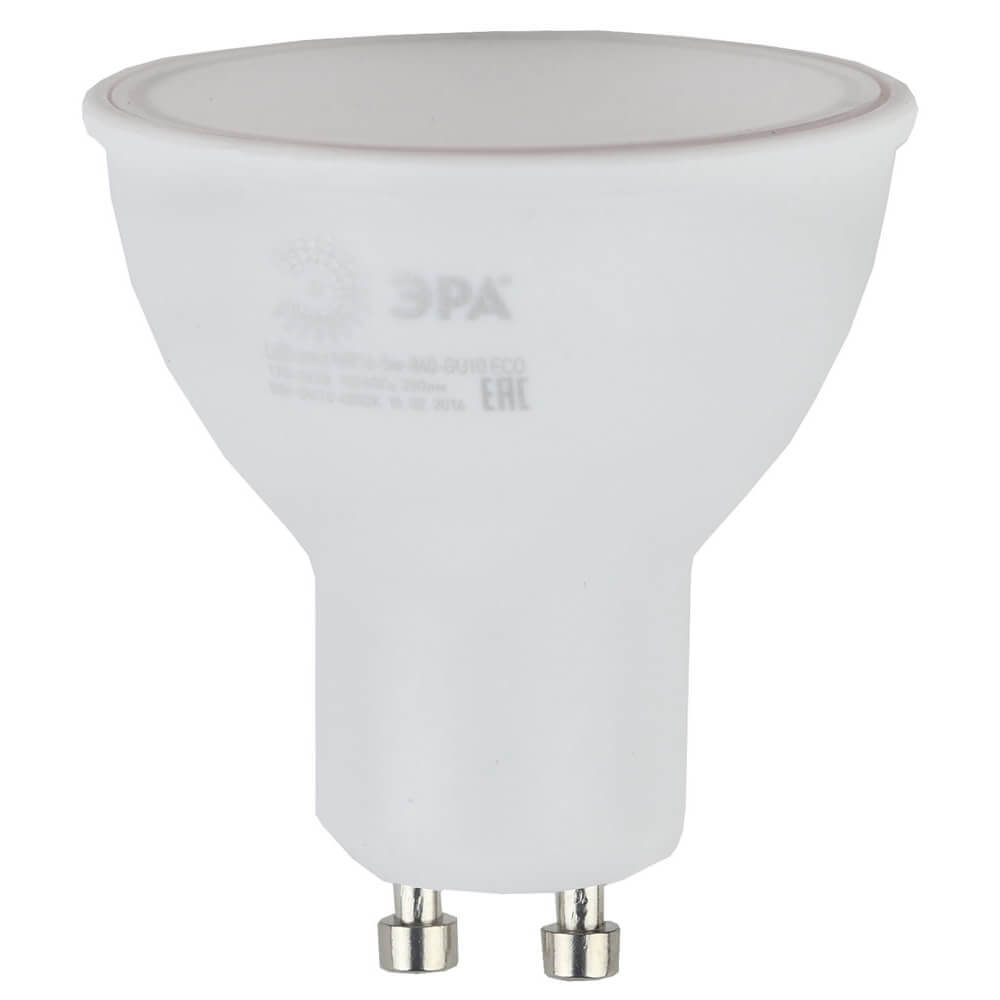 Лампочка ЭРА ECO LED MR16-5W-840-GU10 MR16