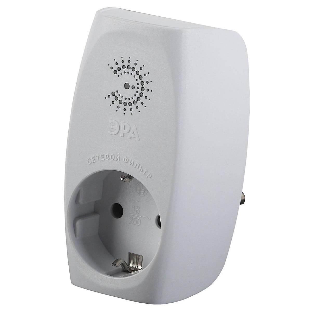 Сетевой фильтр ЭРА SF-1e-W