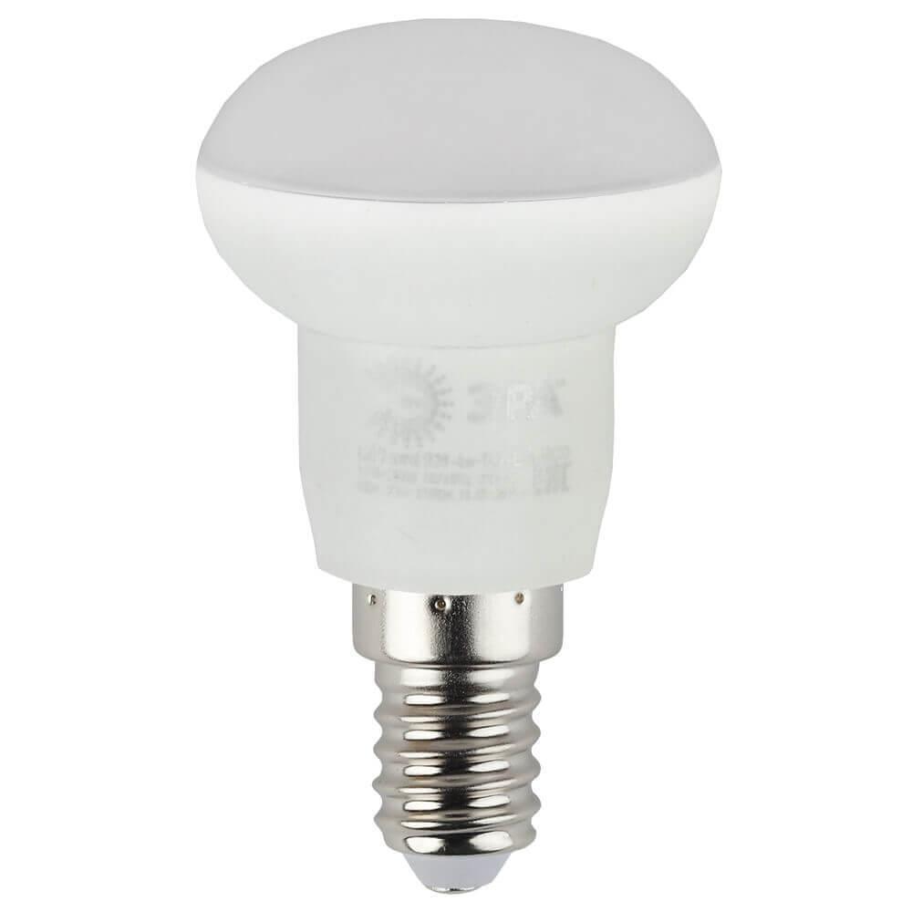 Лампа светодиодная ЭРА E14 4W 2700K матовая ECO LED R39-4W-827-E14 лампочка iteria шар хрустальный 4w 2700k e14 804013