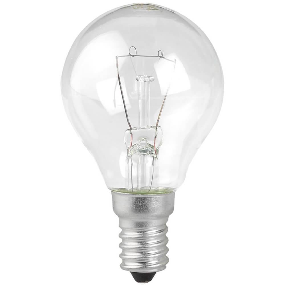 Лампа накаливания ЭРА E14 40W 2700K прозрачная ЛОН ДШ40-230-E14-CL лампа накаливания цилиндрическая camelion mic 15 p cl e14 e14 15w 2700k