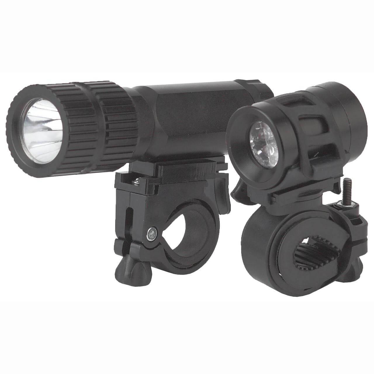 Велосипедный светодиодный фонарь ЭРА от батареек 80 лм (2 шт.) VB-601