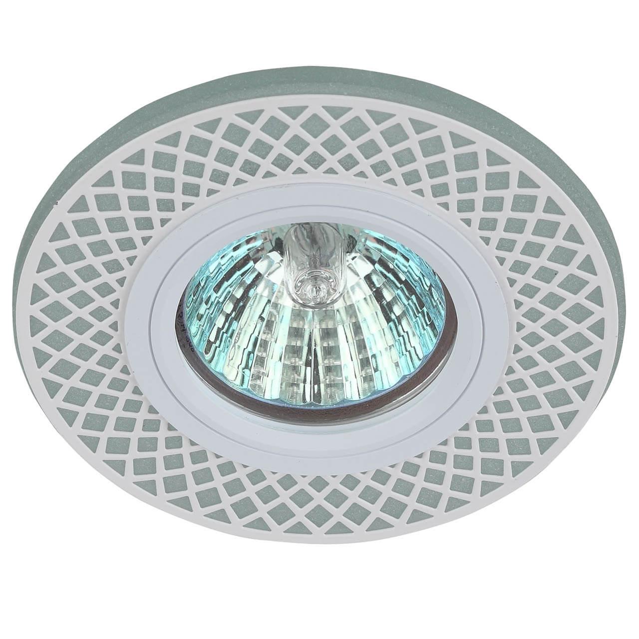 Точечный светильник ЭРА DK LD42 WH/WH elvan точечный светильник elvan sd 8016 g wh