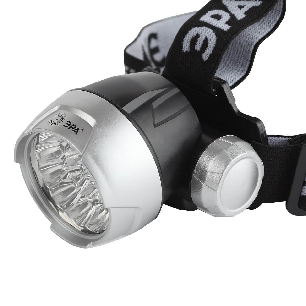 Налобный светодиодный фонарь ЭРА от батареек GB-705 светодиодный алюминиевый фонарь эра sd9