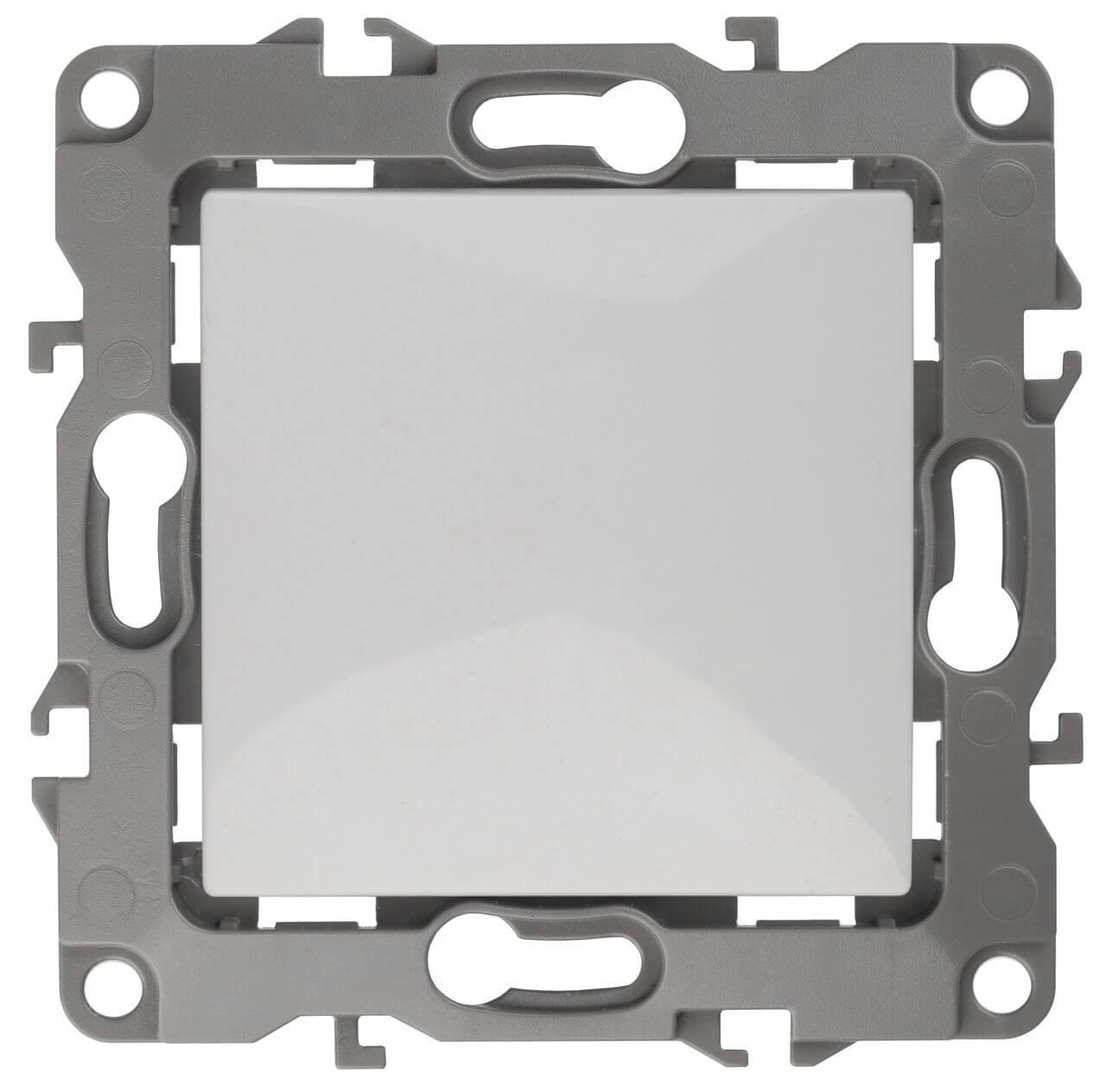 Выключатель одноклавишный ЭРА 12 10AX 250V Al Cu 12А-1001-01 hp 12а black q2612af