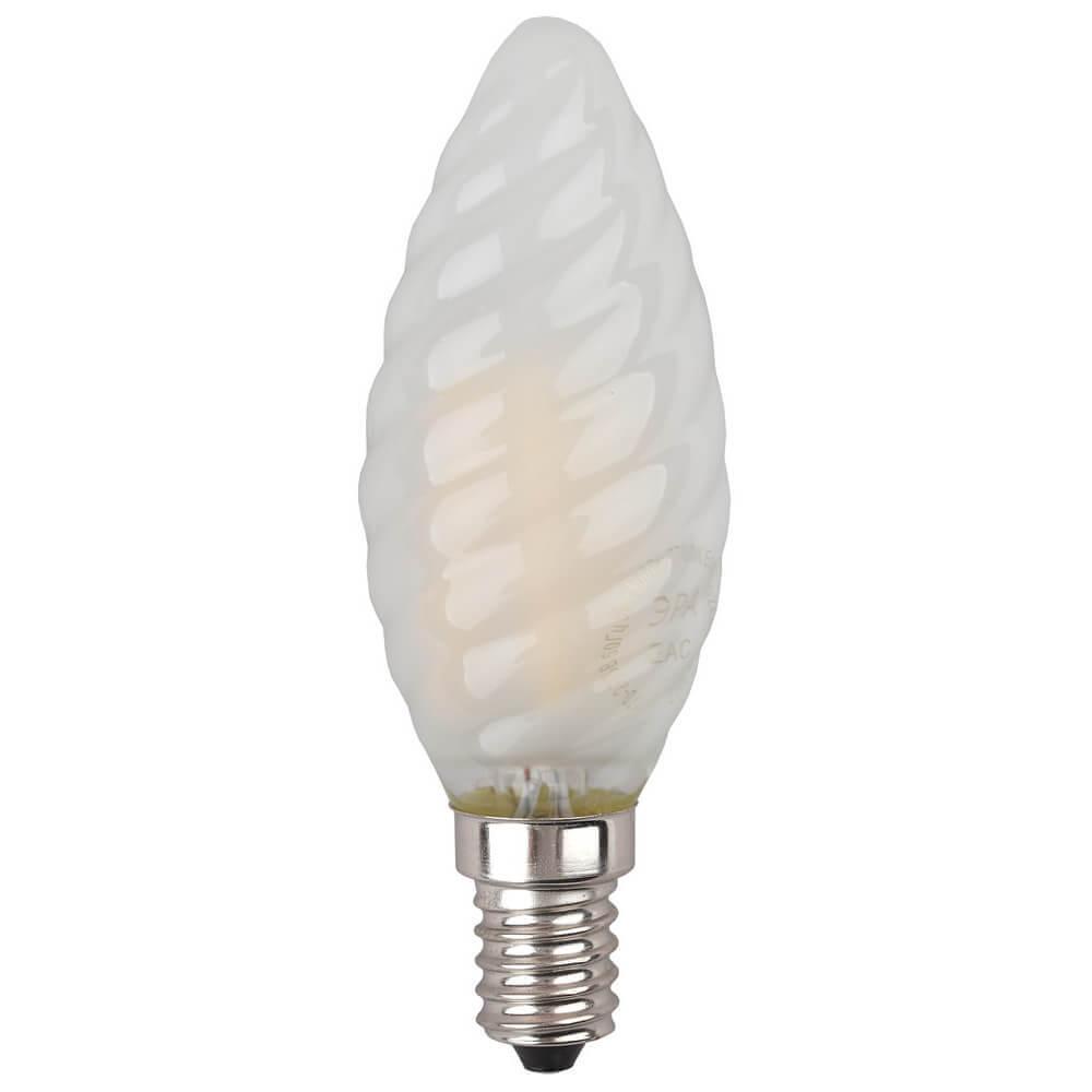 Лампа светодиодная филаментная ЭРА E14 5W 2700K матовая F-LED BTW-5W-827-E14 frost