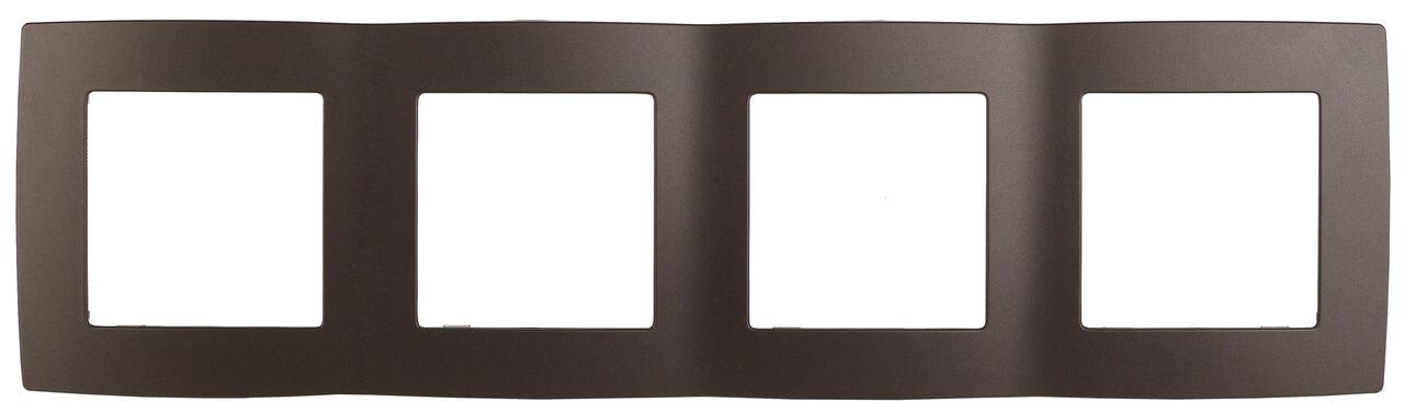 Рамка 4-постовая ЭРА 12 12-5004-13 цена