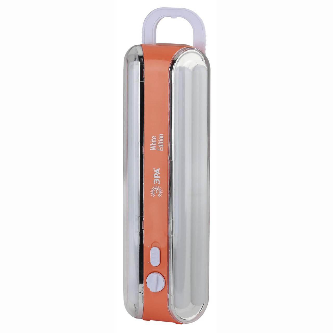 цена на Переносной аварийный светодиодный фонарь ЭРА аккумуляторный 414 лм EL96S