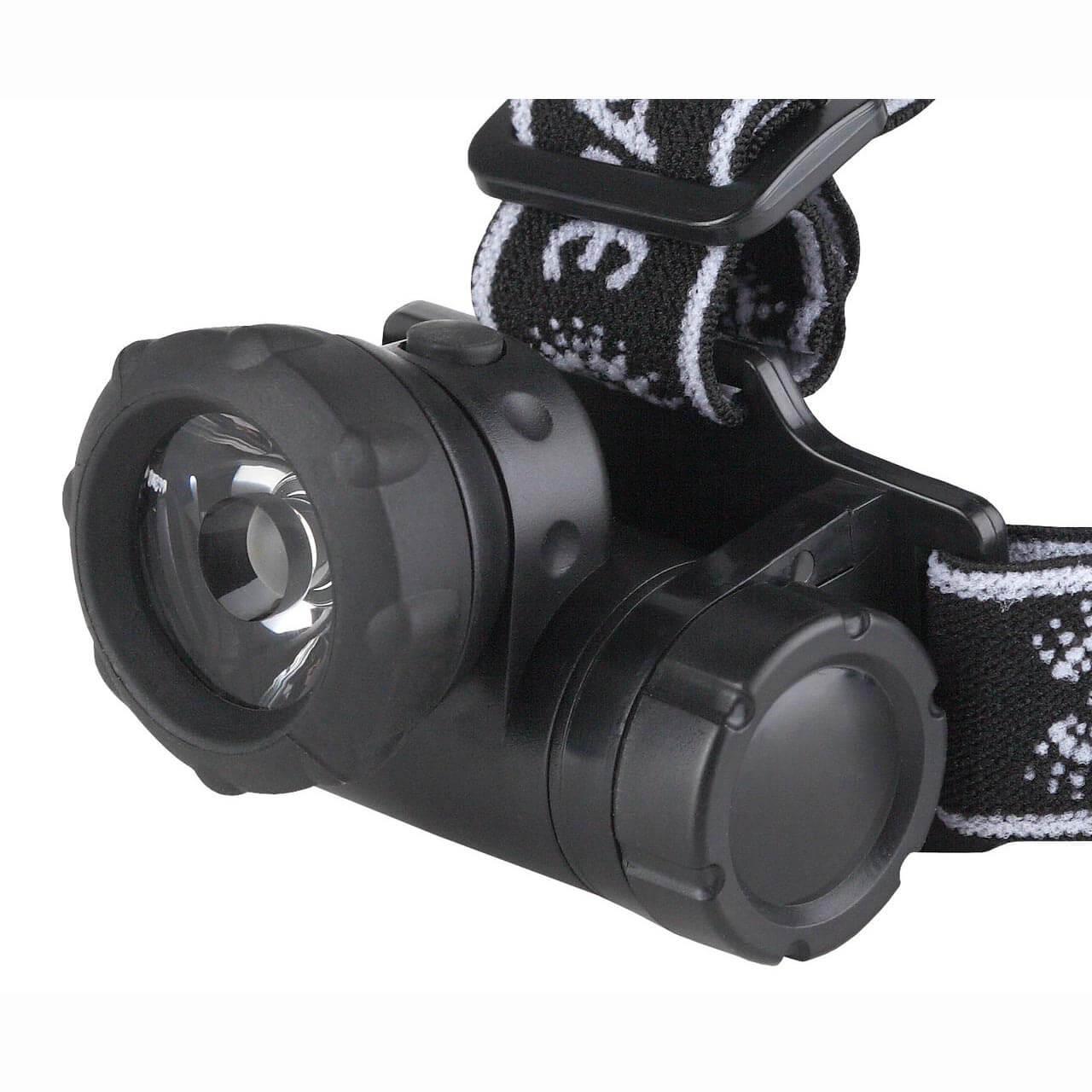 Налобный светодиодный фонарь ЭРА от батареек 60 лм G1W