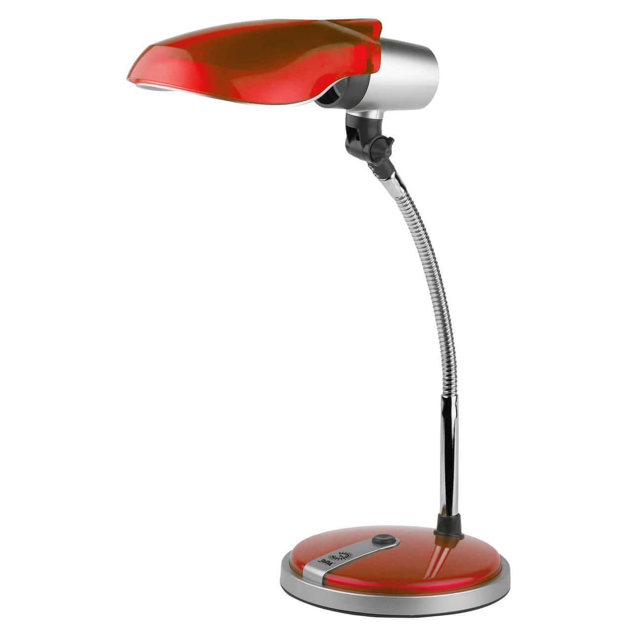 Настольная лампа ЭРА NE-301-E27-15W-R