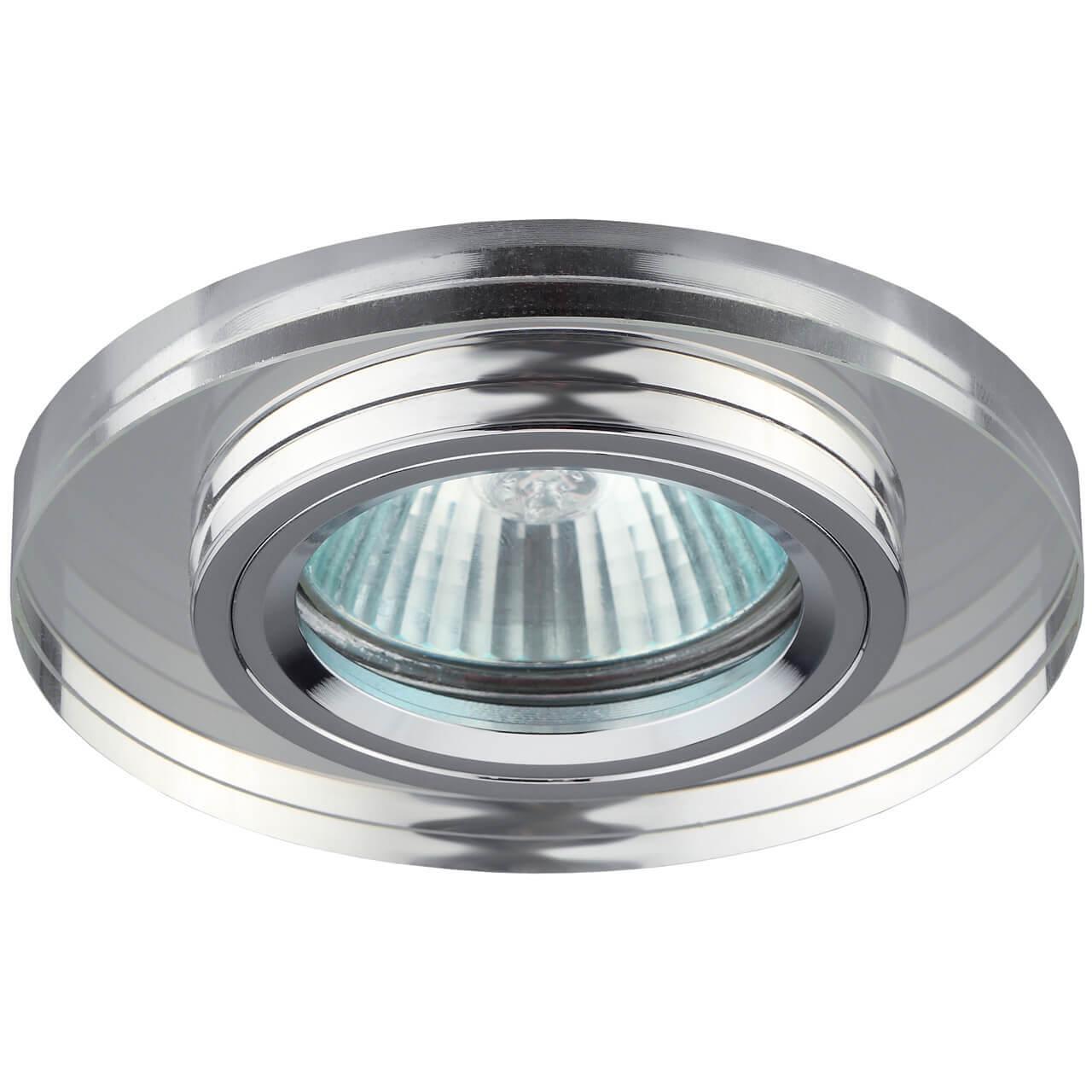 Встраиваемый светильник ЭРА Декор DK7 CH/WH