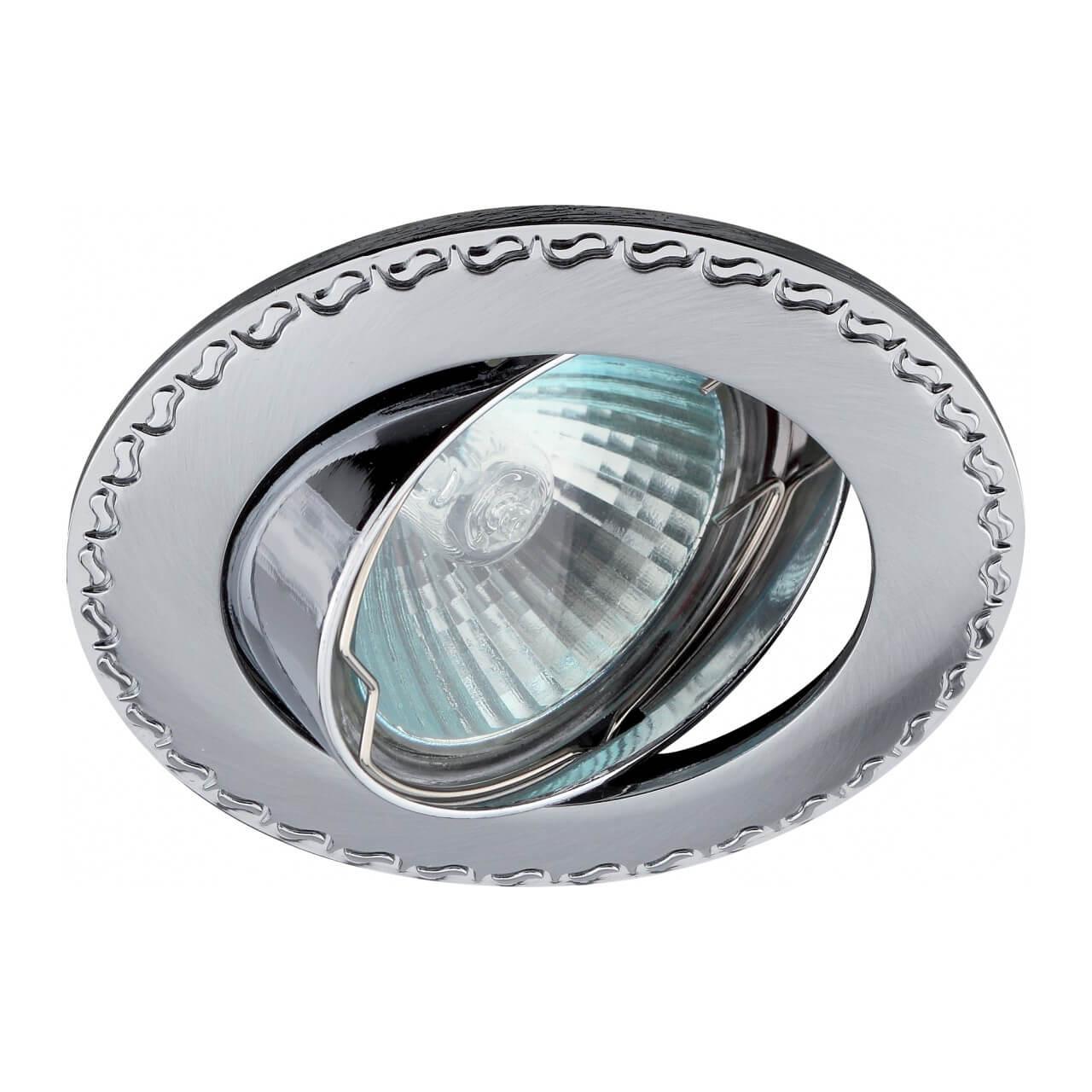 Встраиваемый светильник ЭРА Литой KL23А SCH/CH цена