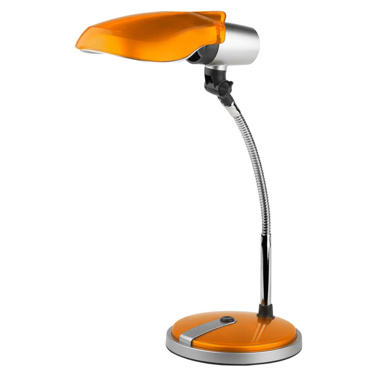 Настольная лампа ЭРА NE-301-E27-15W-OR настольная лампа эра ne 306 e27 25w w