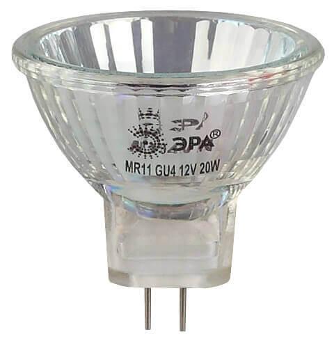 Лампочка ЭРА GU4-MR11-35W-12V-30CL MR11