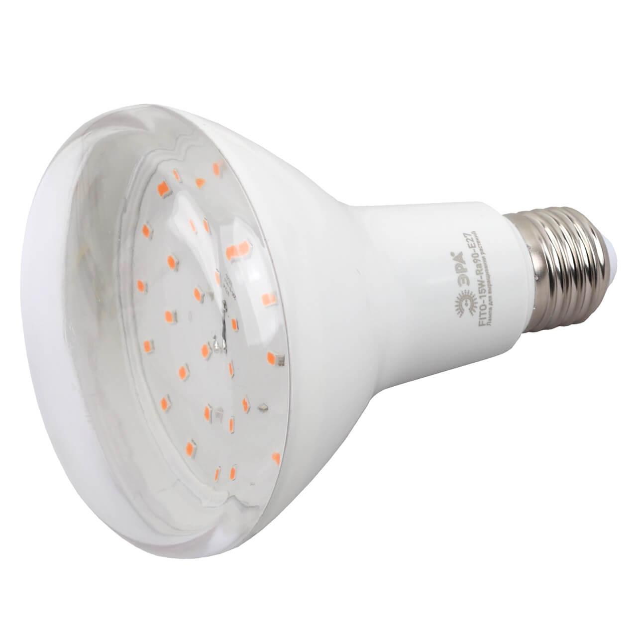 Лампочка ЭРА FITO-15W-Ra90-E27