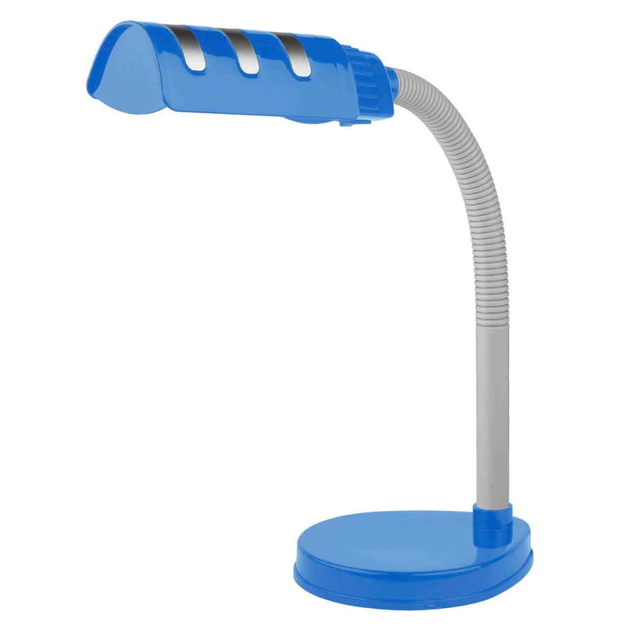 Настольная лампа ЭРА NE-302-E27-15W-BU настольная лампа эра ne 306 e27 25w w