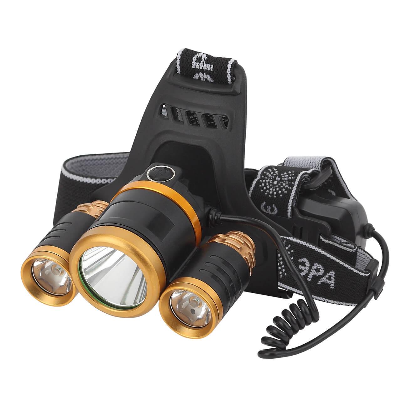 Налобный светодиодный фонарь ЭРА аккумуляторный GA-809 фонарь эра ga 801