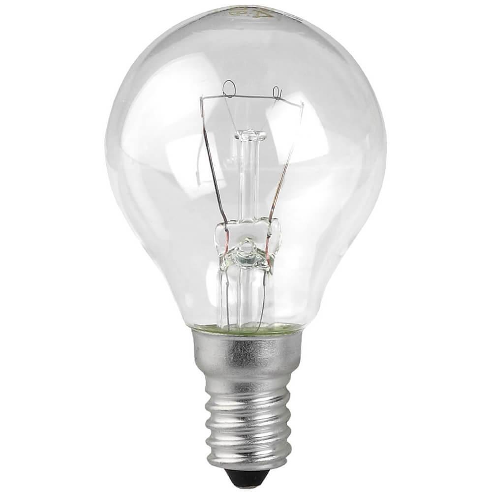 Лампа накаливания ЭРА E14 60W 2700K прозрачная ЛОН ДШ60-230-E14-CL лампа накаливания цилиндрическая camelion mic 15 p cl e14 e14 15w 2700k