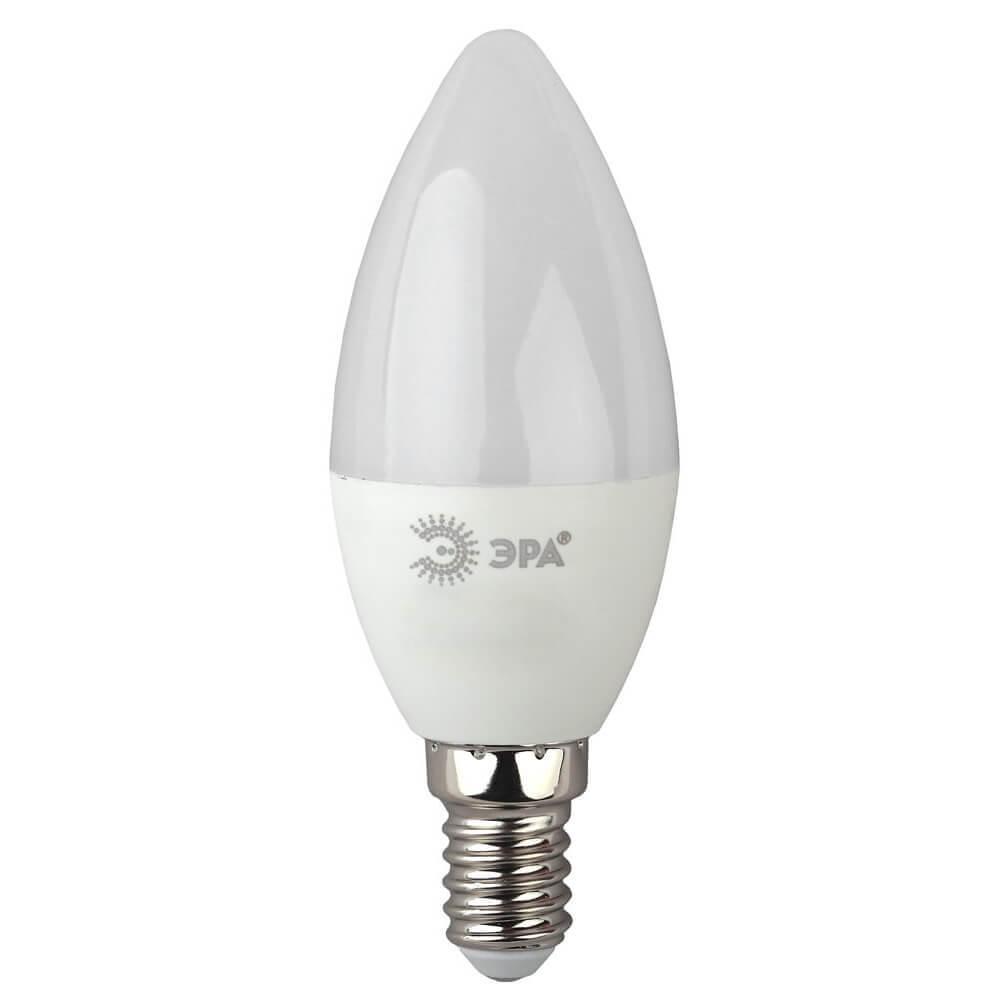 купить Лампа светодиодная ЭРА E14 7W 2700K матовая LED B35-7W-827-E14 дешево