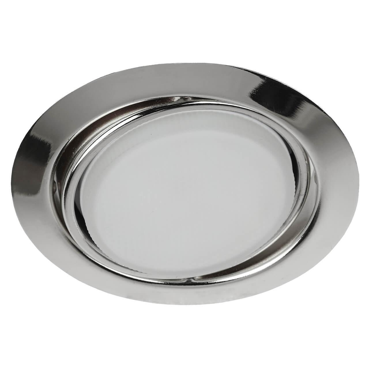 Встраиваемый светильник ЭРА GX53 KL35 А СН цены
