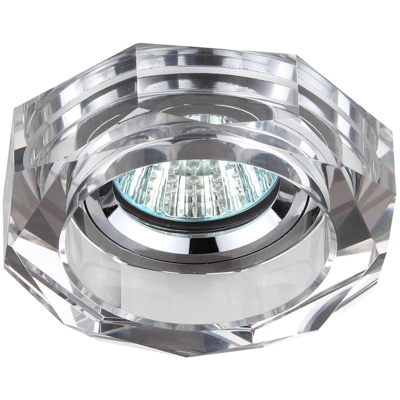 Встраиваемый светильник ЭРА Декор DK6 СH/SL