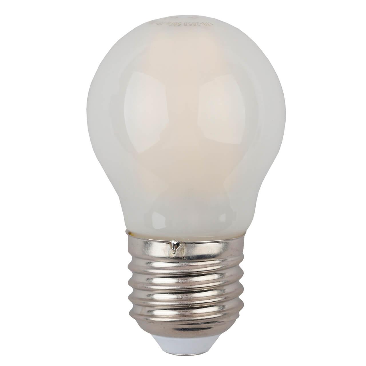 Лампочка ЭРА F-LED P45-9w-827-E27 frost F-LED P45 лампа светодиодная led p45 9w 827 e27