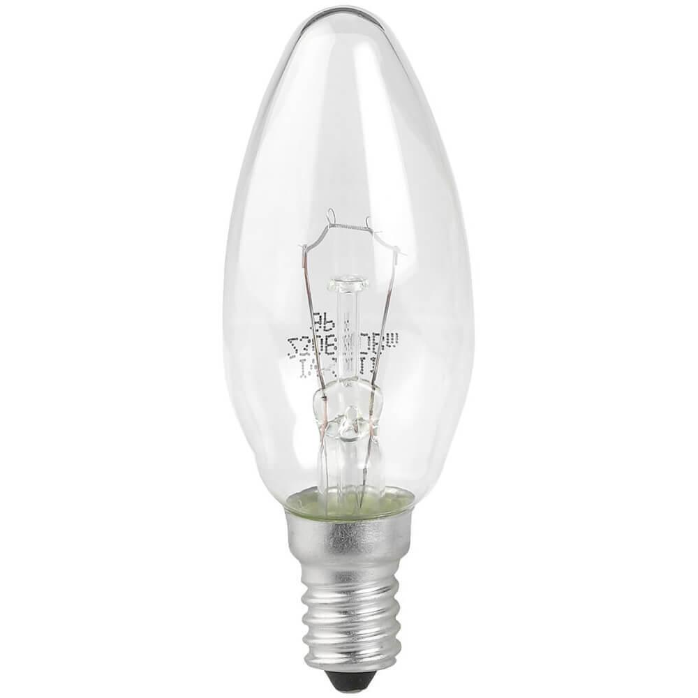 Лампа накаливания ЭРА E14 40W 2700K прозрачная ДС 40-230-E14-CL лампа накаливания цилиндрическая camelion mic 15 p cl e14 e14 15w 2700k