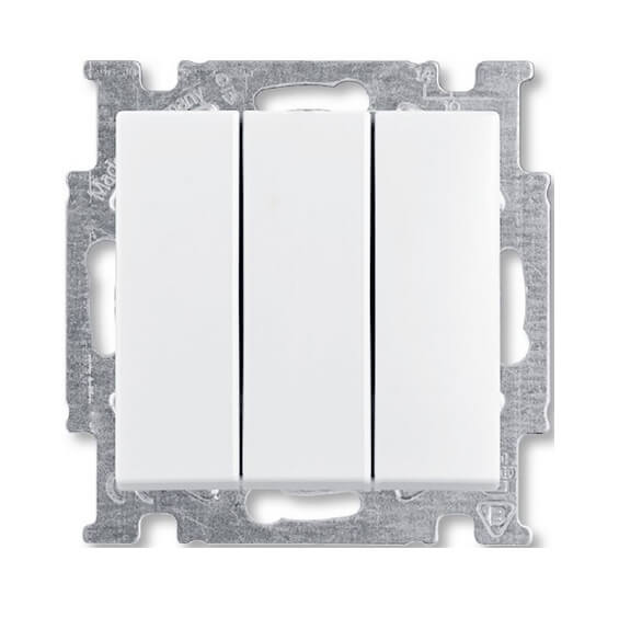 Выключатель трехклавишный ABB Basic55 16A 250V альпийский белый 2CKA001012A2155 2017 newest technology pd 740 pulse induction pinpointer underwater metal detector
