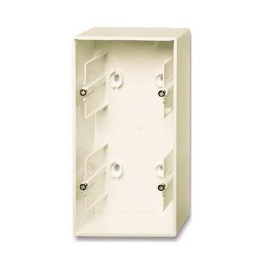 цена на Коробка для накладного монтажа 2-постовая ABB Basic55 слоновая кость 2CKA001799A0972
