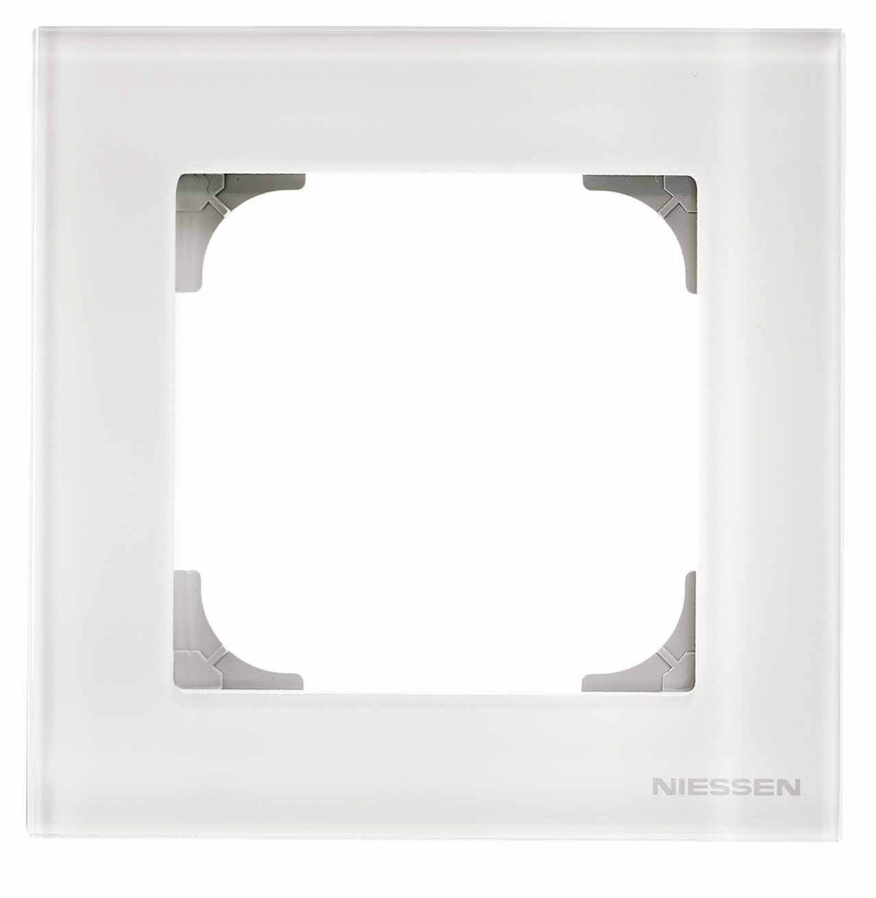 цены Рамка 1-постовая ABB Sky стекло белое 2CLA857100A3001