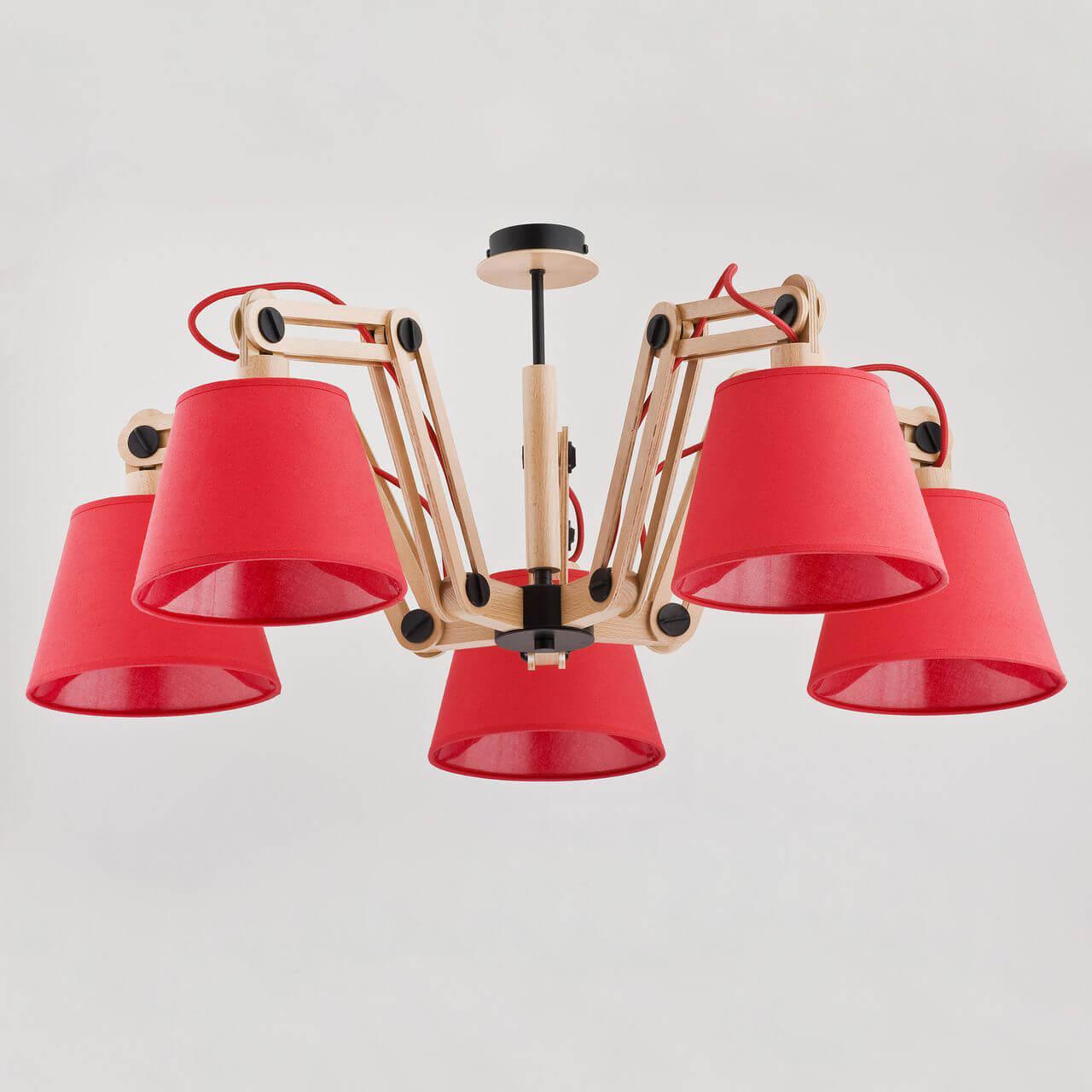 купить Потолочная люстра Alfa Joga Red 22245 по цене 9790 рублей