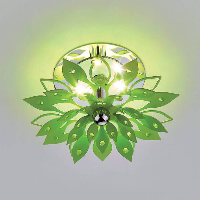 Встраиваемый светодиодный светильник Ambrella light LED S100 GR 3W 4200 цена в Москве и Питере