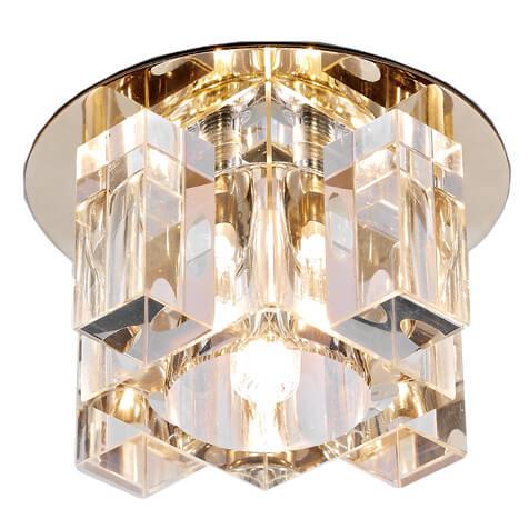 Светильник Ambrella light D1037 CL/CL/G Desing