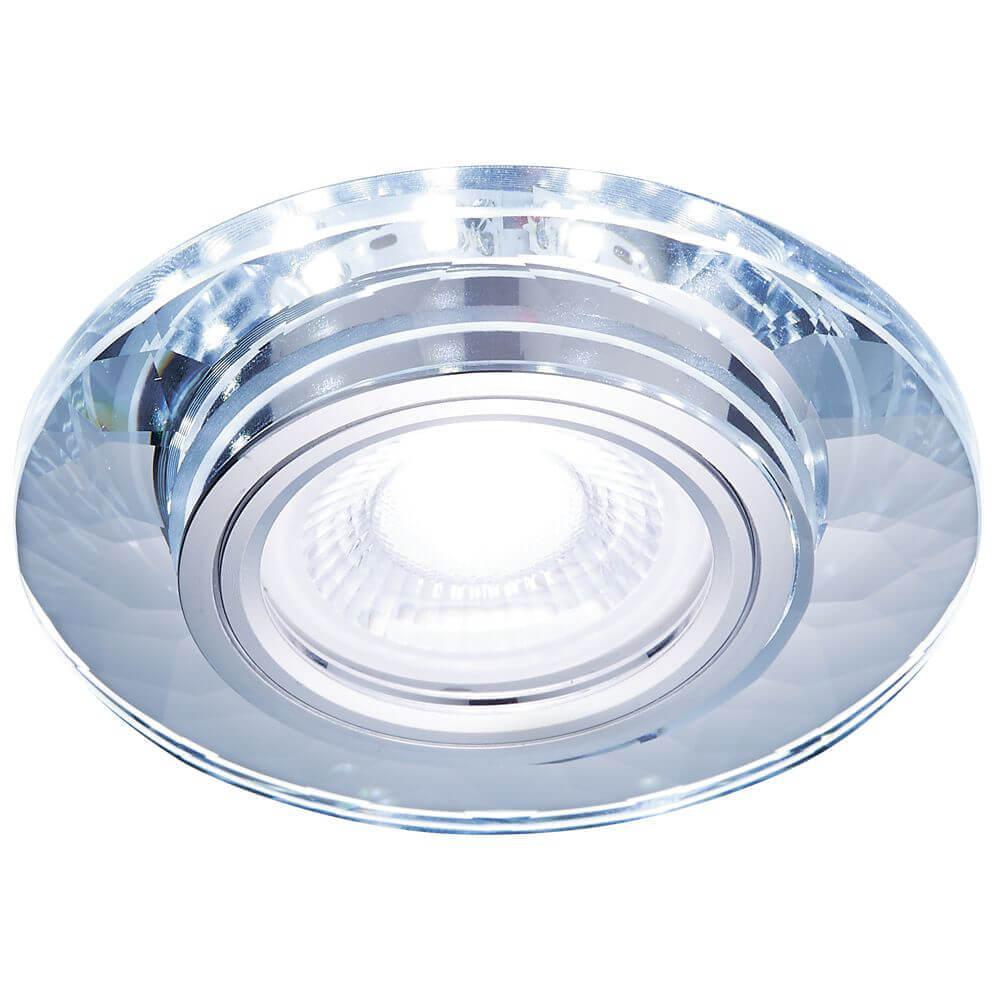 Светильник Ambrella light S211 CL/WH LED MR16 встраиваемый светильник ambrella light compo led s211 pr wh