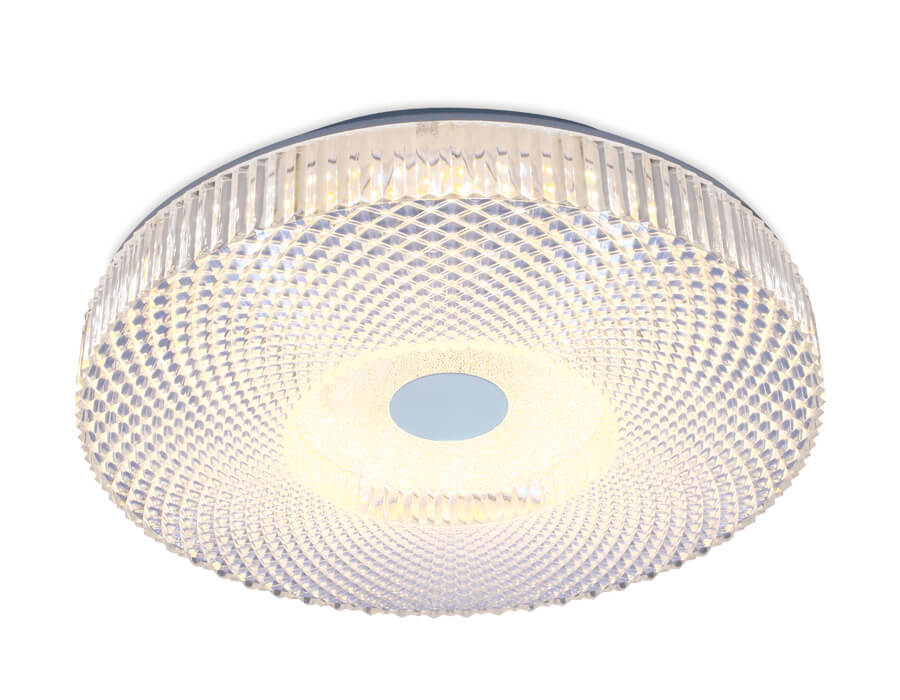 Светильник Ambrella light F96 CL 48W D390 Orbital Crystal