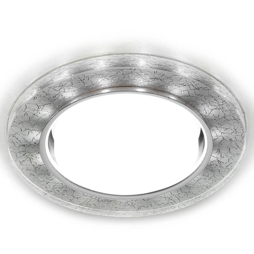 Встраиваемый светильник Ambrella light GX53 LED G248 W/CH th 7006a foldable 16x magnifier w led light