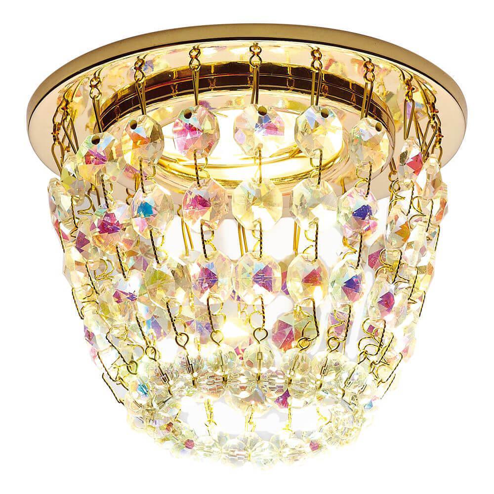 Светильник Ambrella light K2075 G/PR Crystal