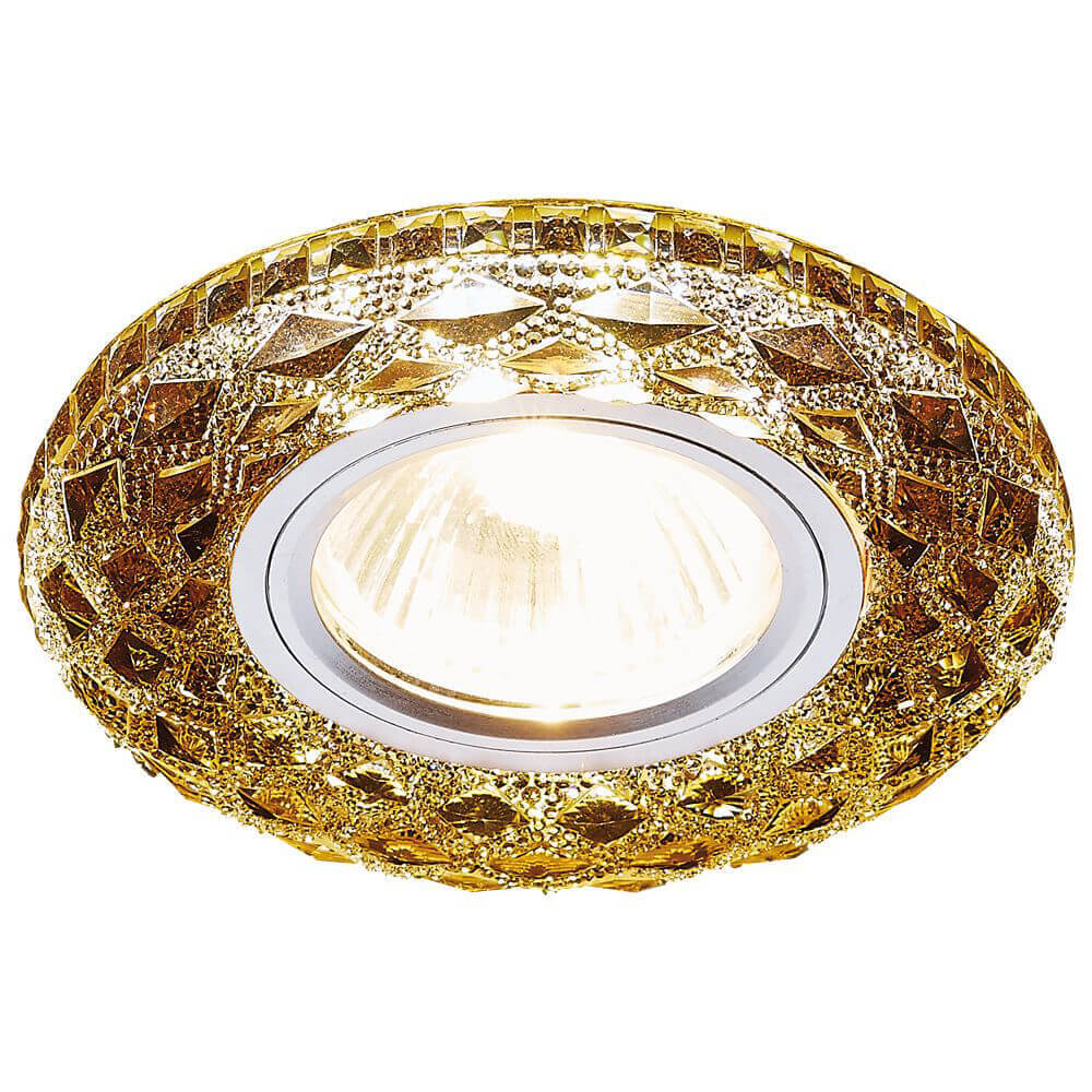 Фото - Светильник Ambrella light S288 BK LED встраиваемый светильник ambrella light s288 ch хром прозрачный
