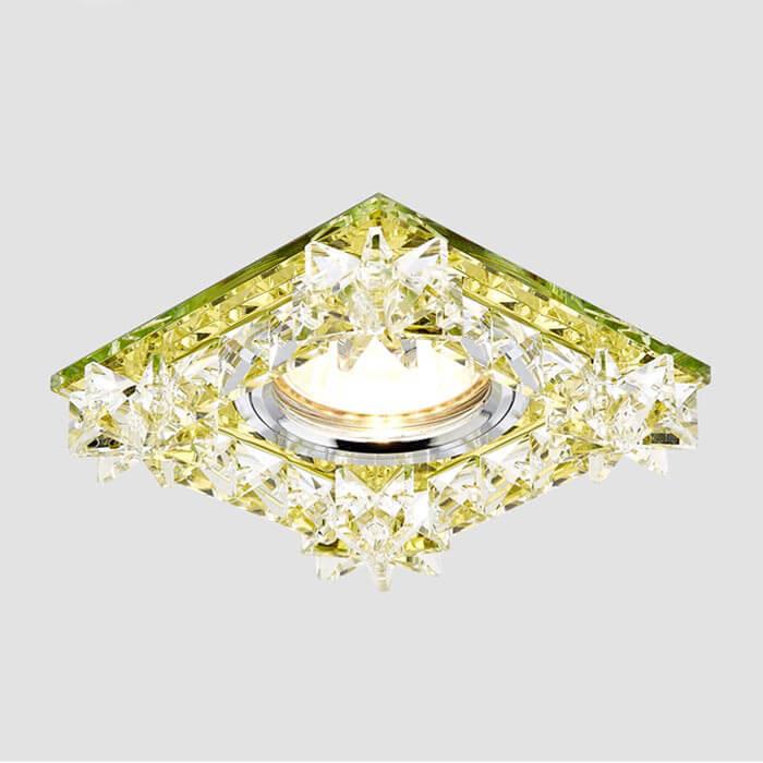 Светильник Ambrella light K130 GD Crystal