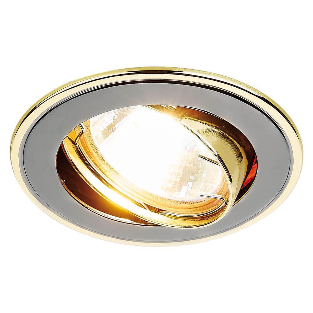 Светильник Ambrella light 104A GU/G Classic встраиваемый светильник ambrella light 104a cf gu ch