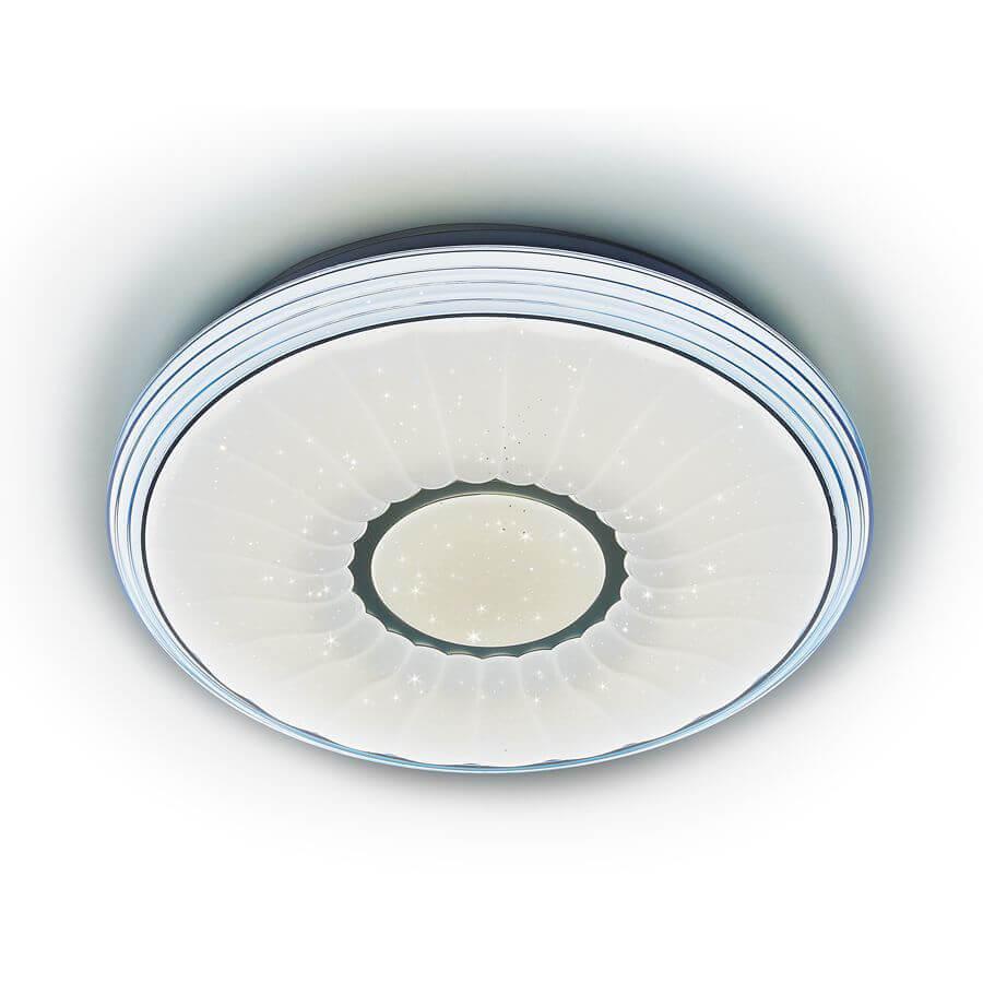 Потолочный светодиодный светильник Ambrella light Orbital Air F11 BL 72W D400 ambrella потолочный светодиодный светильник ambrella orbital air f11 bl 72w d400