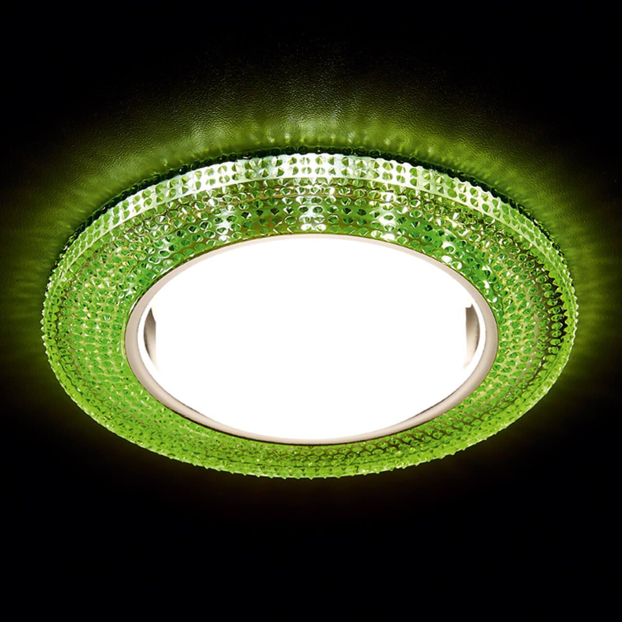 Встраиваемый светодиодный светильник Ambrella light GX53 LED G290 GR цена в Москве и Питере